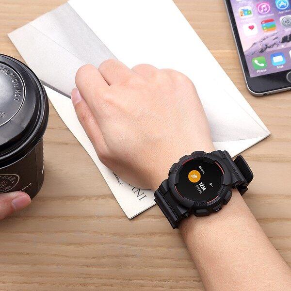 Smart Watch - MX IP68 Smart Watch Wristband Blood Pressure Heart - YELLOW / BLUE / RED / BLACK