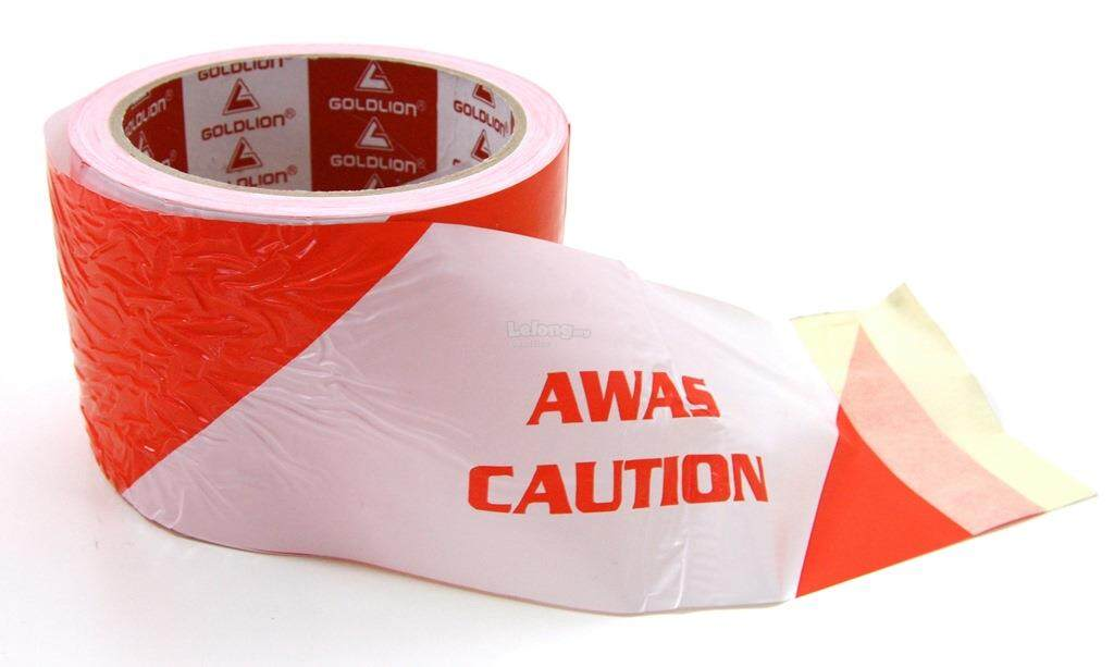 "3"" x 50M Barricade Tape Aaws Tape Warning Tape Caution Tape"