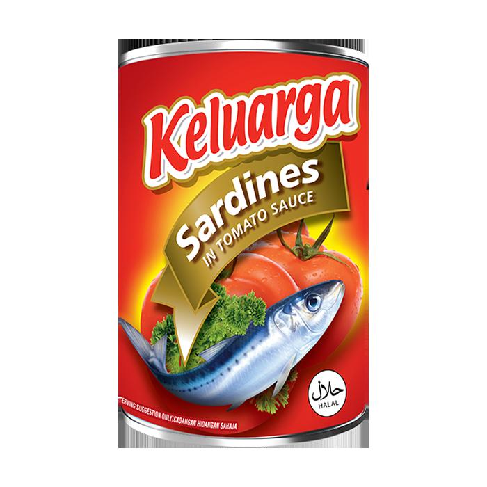 Cap Keluarga Sardines in Tomato Sauce 425g