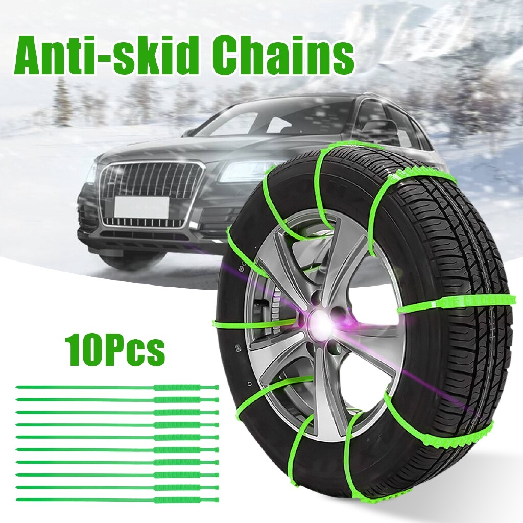Car Lights - Car Snow Tire Anti-skid Chains Truck Snow Wheel Tire Chains - Replacement Parts