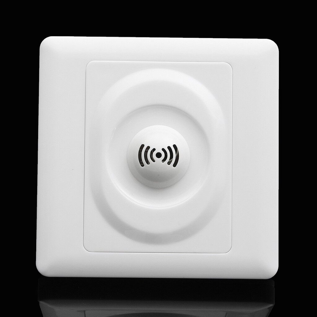 Gadgets - 250V Wall Mount Voice Light Sensor Switch Sound & Light Controlled Delay Sw - Cool