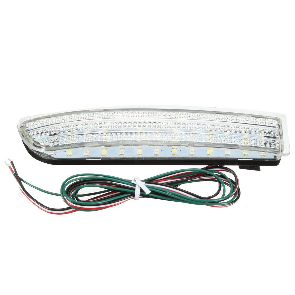 Car Lights - Rear Bumper Reflector white & red LED Tail Brake light for Toyota RAV4 Scio - Replacement Parts