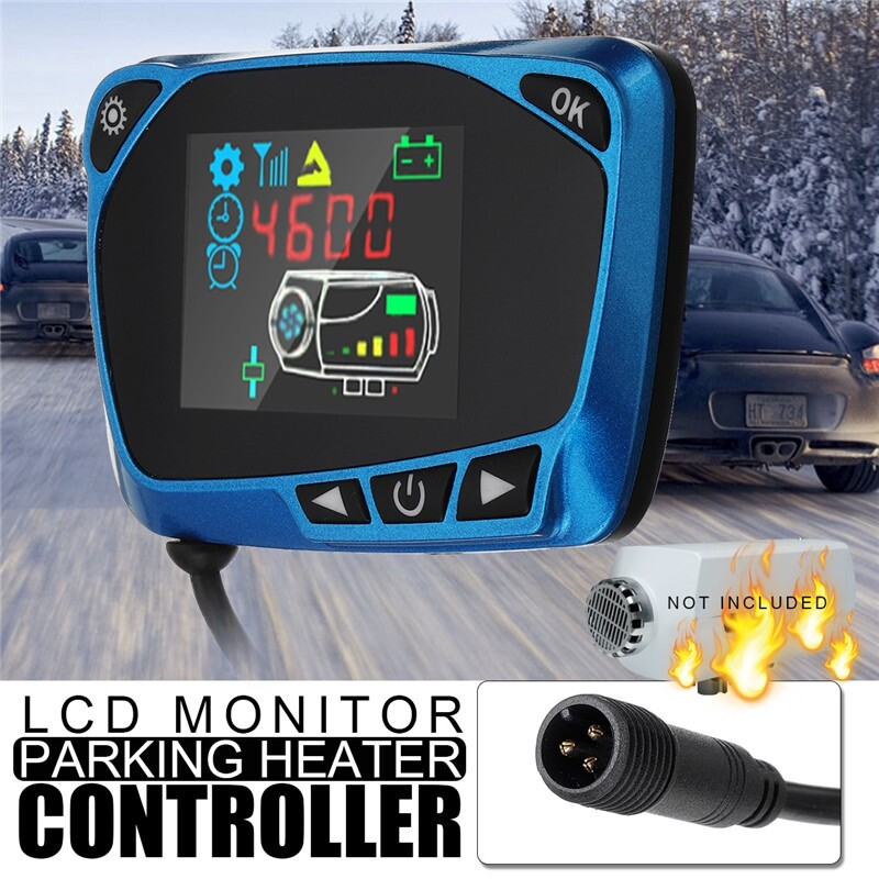 Automotive Tools & Equipment - 12/24V Parking Heater Controller Switch LCD Monitor Car Track Air Diesel Heater - Car Replacement Parts