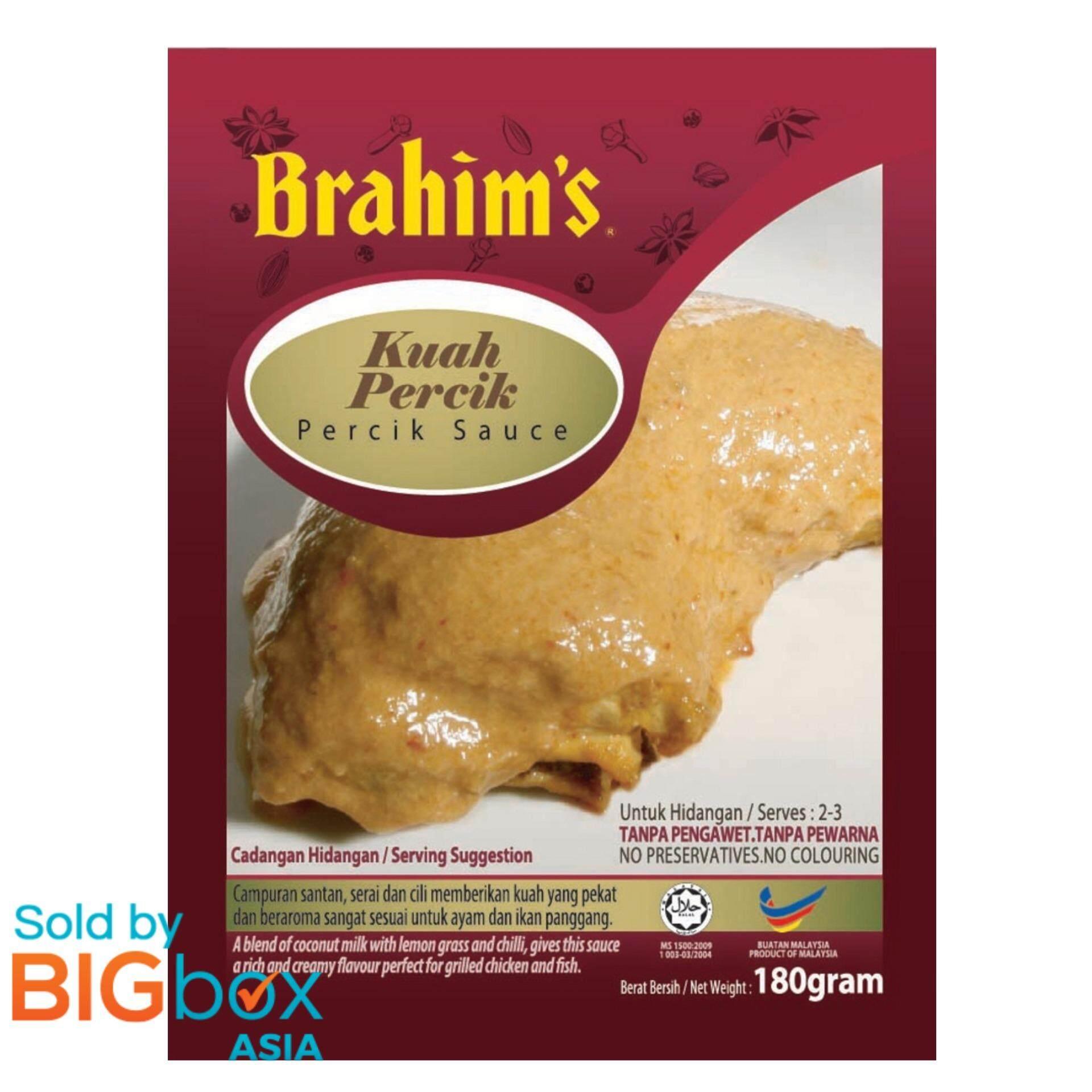 [BIGBox Asia] Brahim's Ready To Use Percik Sauce180g - Malaysia