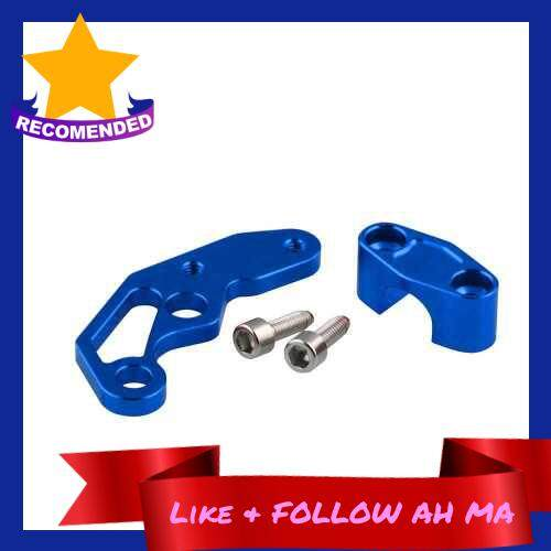 Best Selling CNC Universal Motorcycle Brake Line Clamps Aluminium Alloy Wire Clamp Blue (Blue)