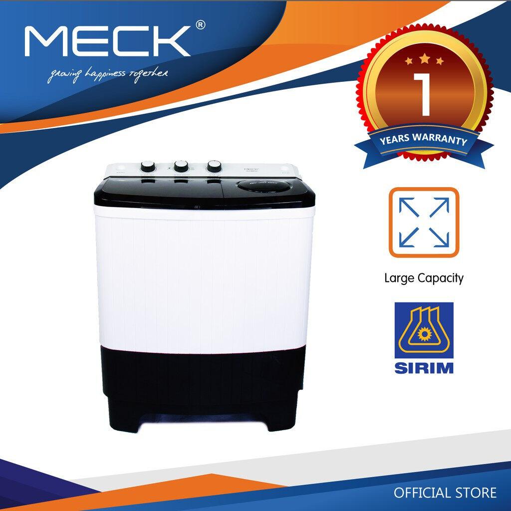 MECK Washing Machine (Semi Automatic) MWM-8000