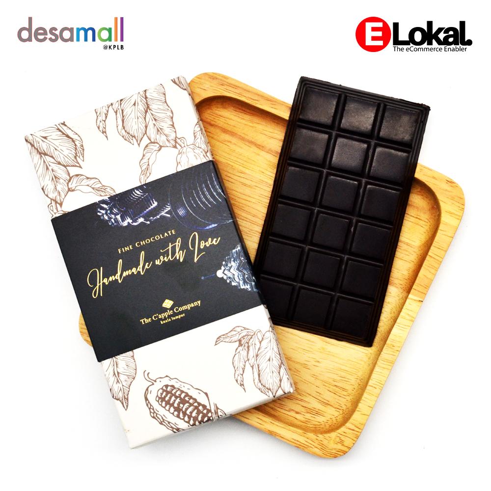 C'APPLE CHOCOLATE Dark Chocolate (100g)