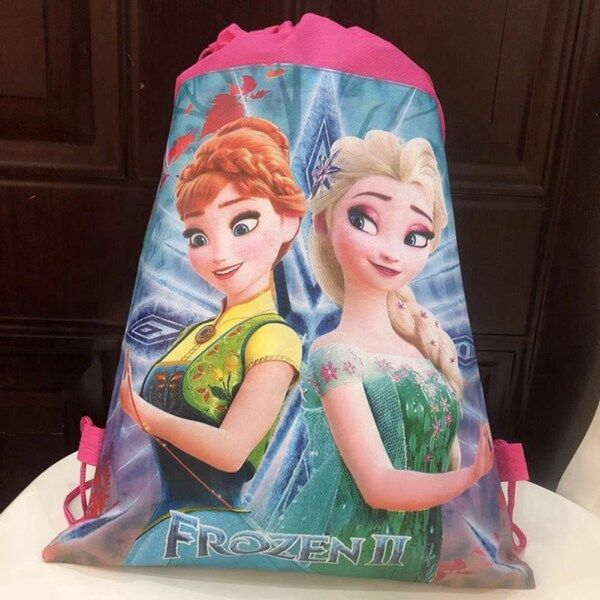 Giá bán Fro Princess Children Cartoon Bag Storage Girl Boy Gift Packet Elsa Swimming Package Cosmetic Toy