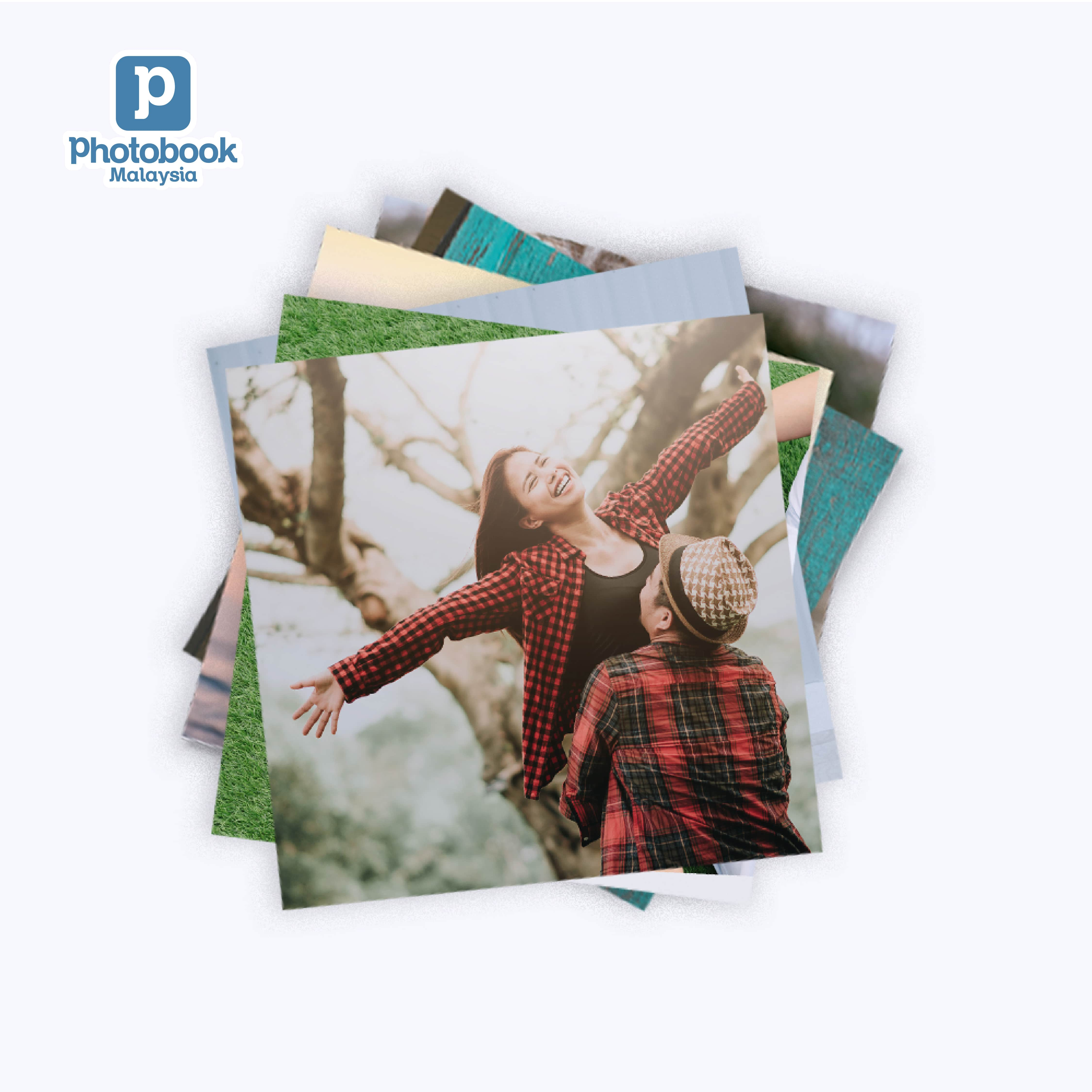 LazChoice [e-Voucher] Photobook Malaysia 50pcs of 4 x 4 Square Photo Prints with FUJIFILM Crystal Paper