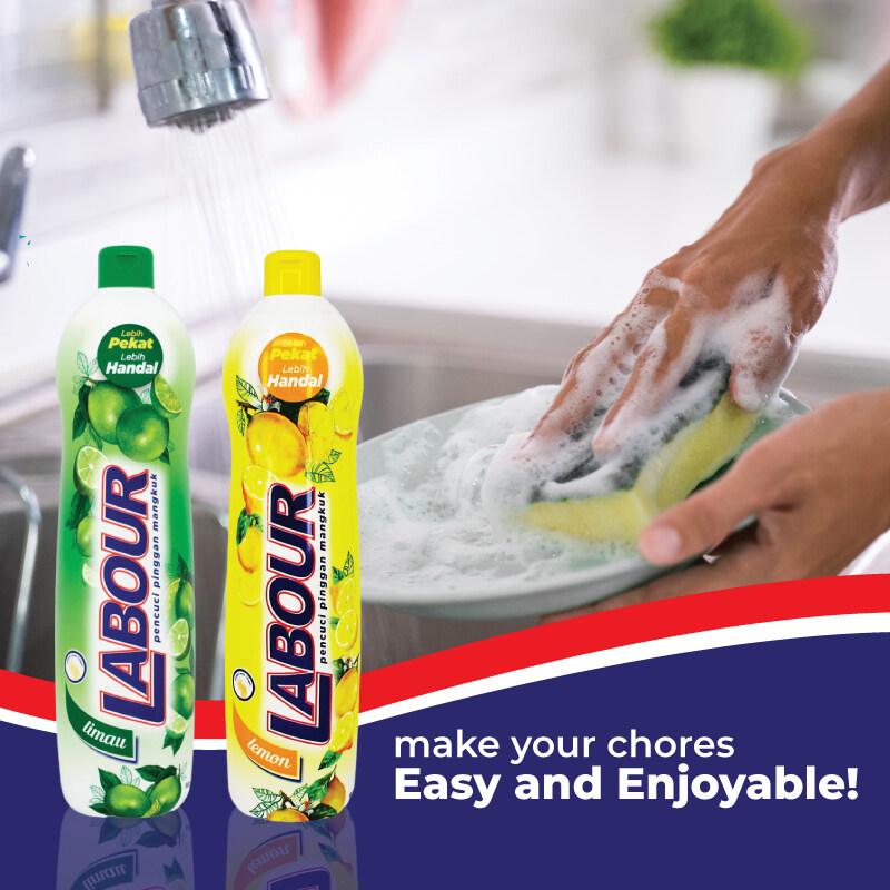 Labour Dishwashing Liquid Lime 900ml