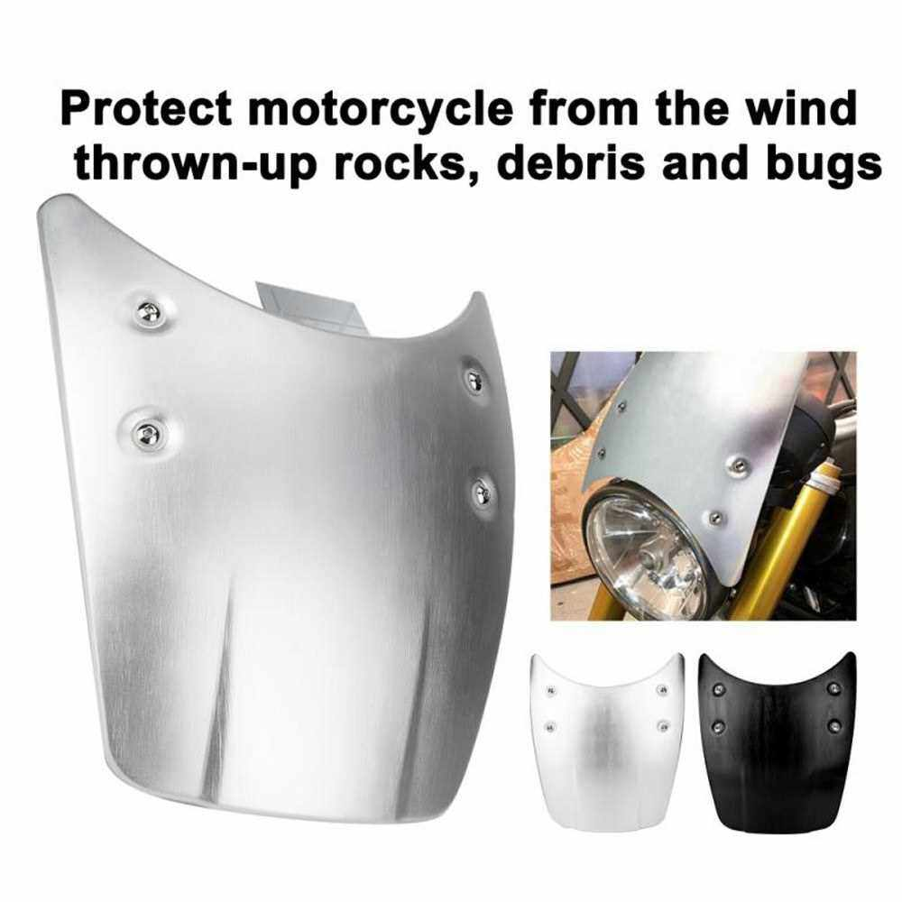 Motorcycle Windshield Windscreen Replacement Accessory for BMW R Nine T (Silver)
