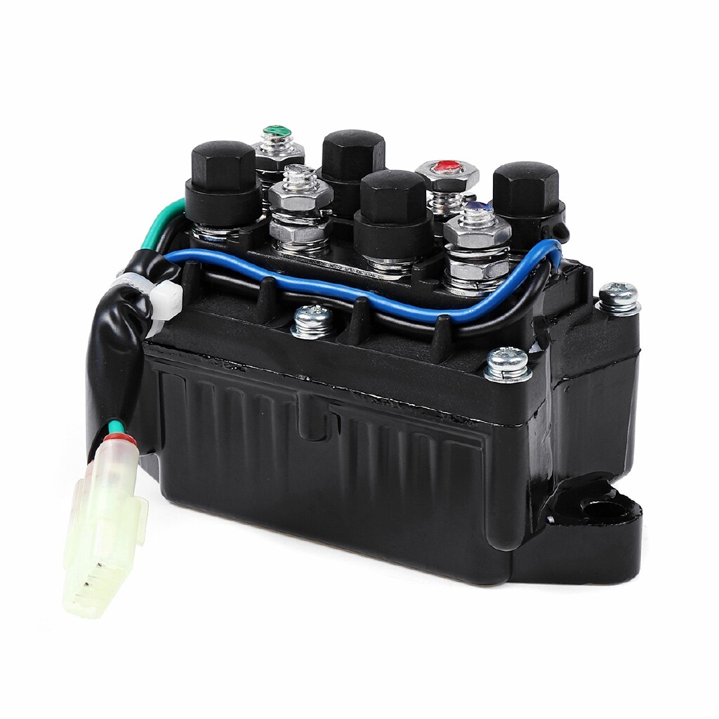 Automotive Tools & Equipment - ATV Winch Solenoid Assembly For Arctic Cat 0409-066 6639-894 1436-066 1436-805 - Car Replacement Parts