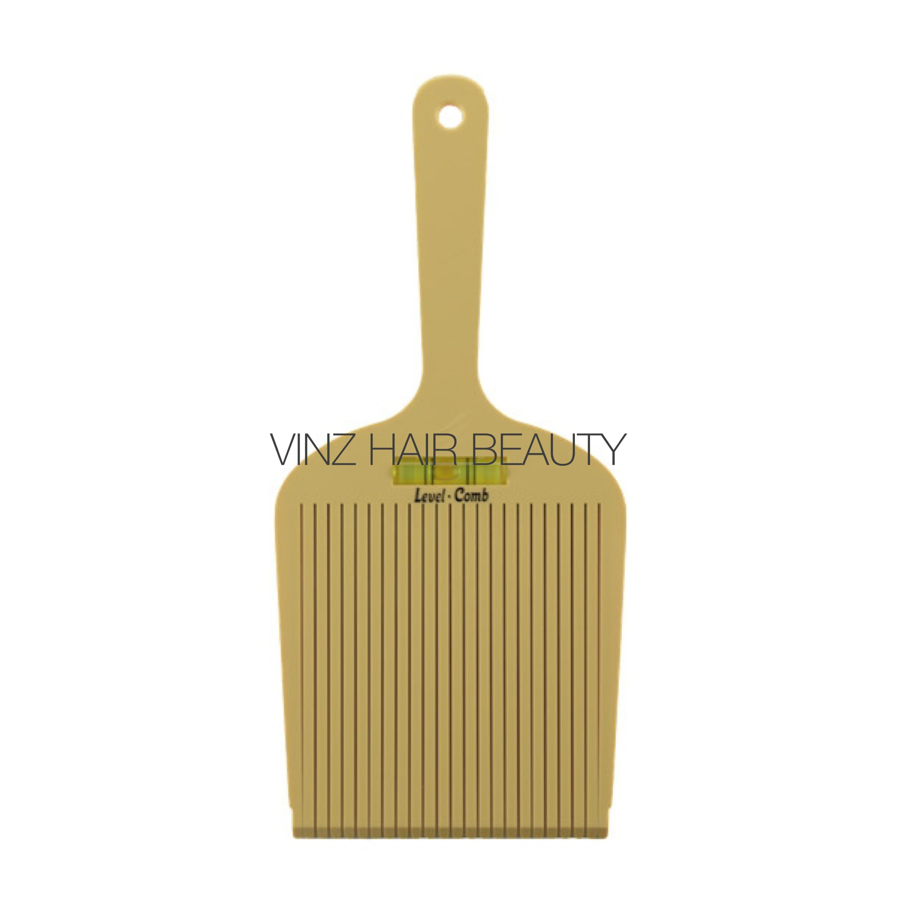 Hairdressing Salon Barber Use Hair Level Comb