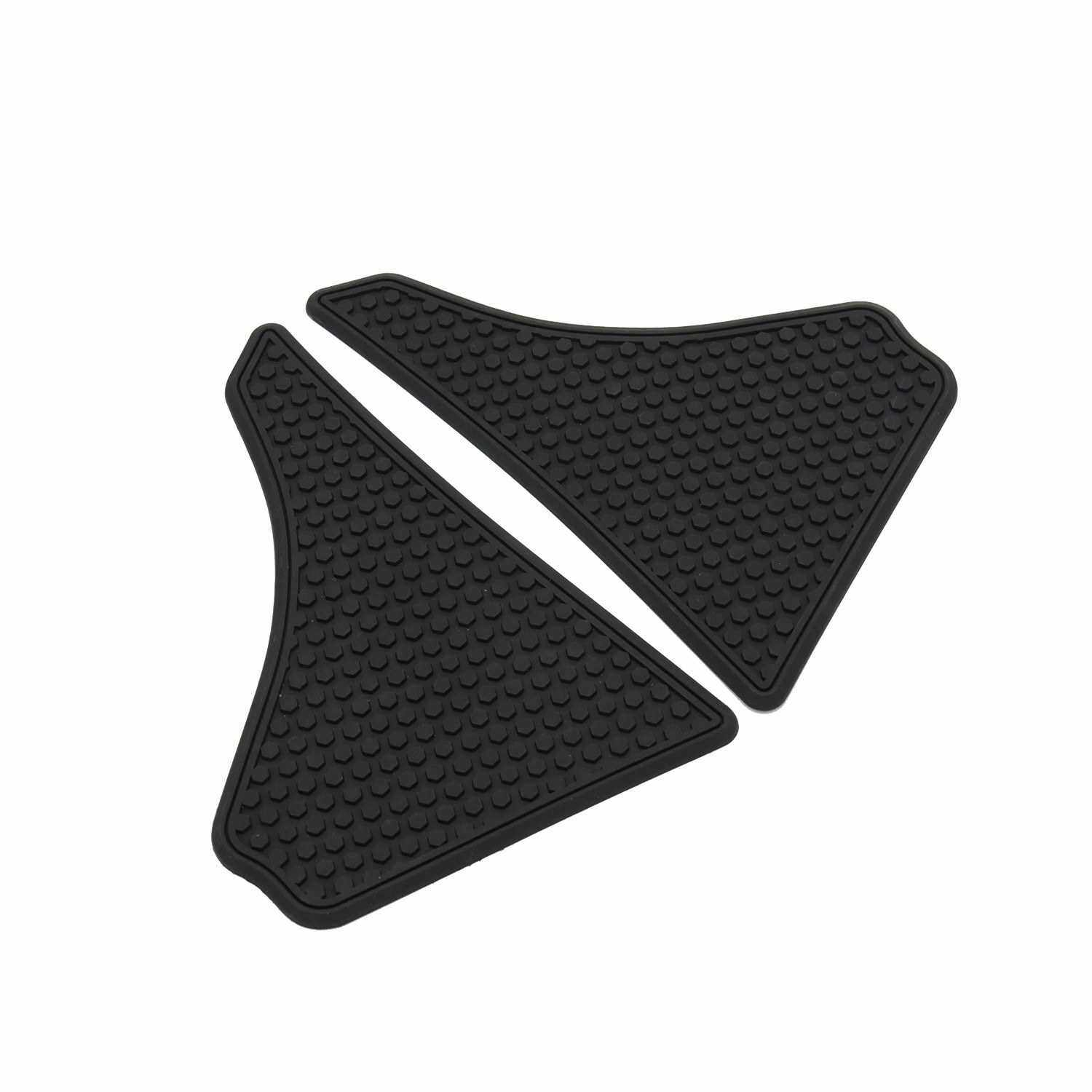 Motorcycle Sticker Gas Fuel Oil Tank Pad Protector Decal replacement for HONDA CRF 250X CRF450R/RWE/X/L (Black)