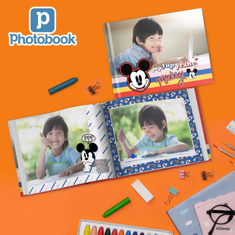 [e-Voucher] Photobook Malaysia 14 x 11 Large Landscape Imagewrap Hardcover Photo Book, 40 Pages