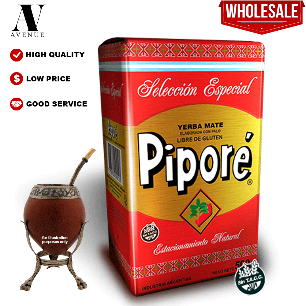 PIPORE YERBA MATE SPECIAL SELECTION GRINDING TEA 500g جيربا مته ممتازة الأصلية