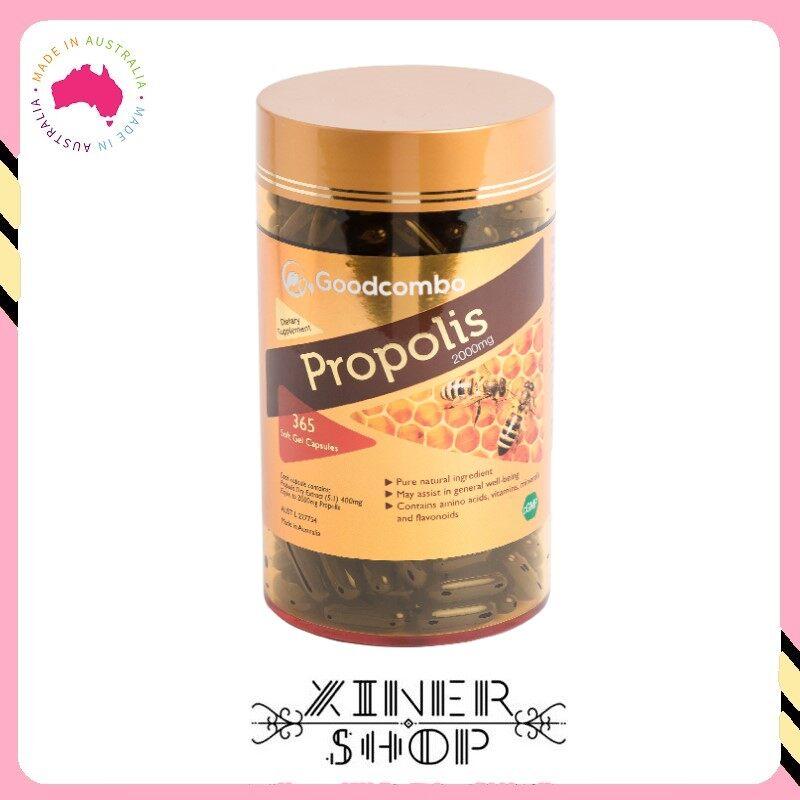 [Pre Order] Goodcombo Propolis 2000mg ( 365 Capsules )(Made in Australia)
