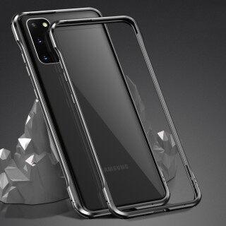 Ốp Viền Nhôm Cho Samsung Galaxy S20 Plus, Ốp Bảo Vệ Khung Phát Quang Độc Đáo Cho Galaxy S20 Ultra Galaxy S20 BJONE thumbnail