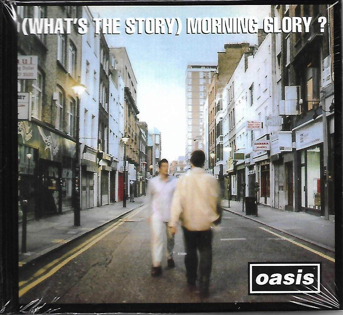 Oasis (What\'s The Story) Morning Glory ? 3CD Imported CD Deluxe Edition Original New And Sealed