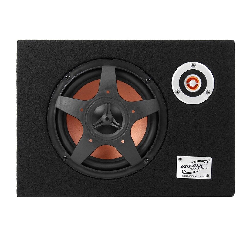 Vehicle Speakers & Subwoofers - Under-Seat Active Car Subwoofer Speaker Audio Bass Powered Amplifier - Car Electronics