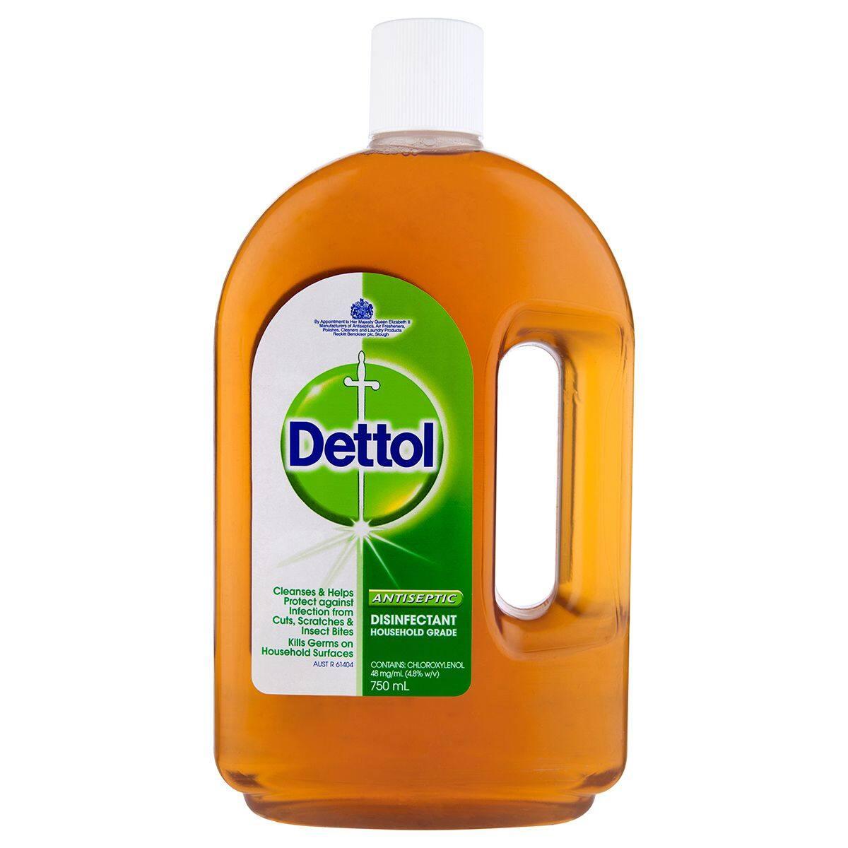 Dettol Antiseptic Liquid 750ml (READY STOCK) 1 BOTTLE