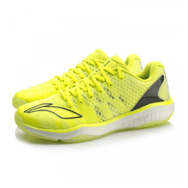 Li-Ning Gyrfalcon II Professional Men's Badminton Shoes - Yellow AYAP009-1