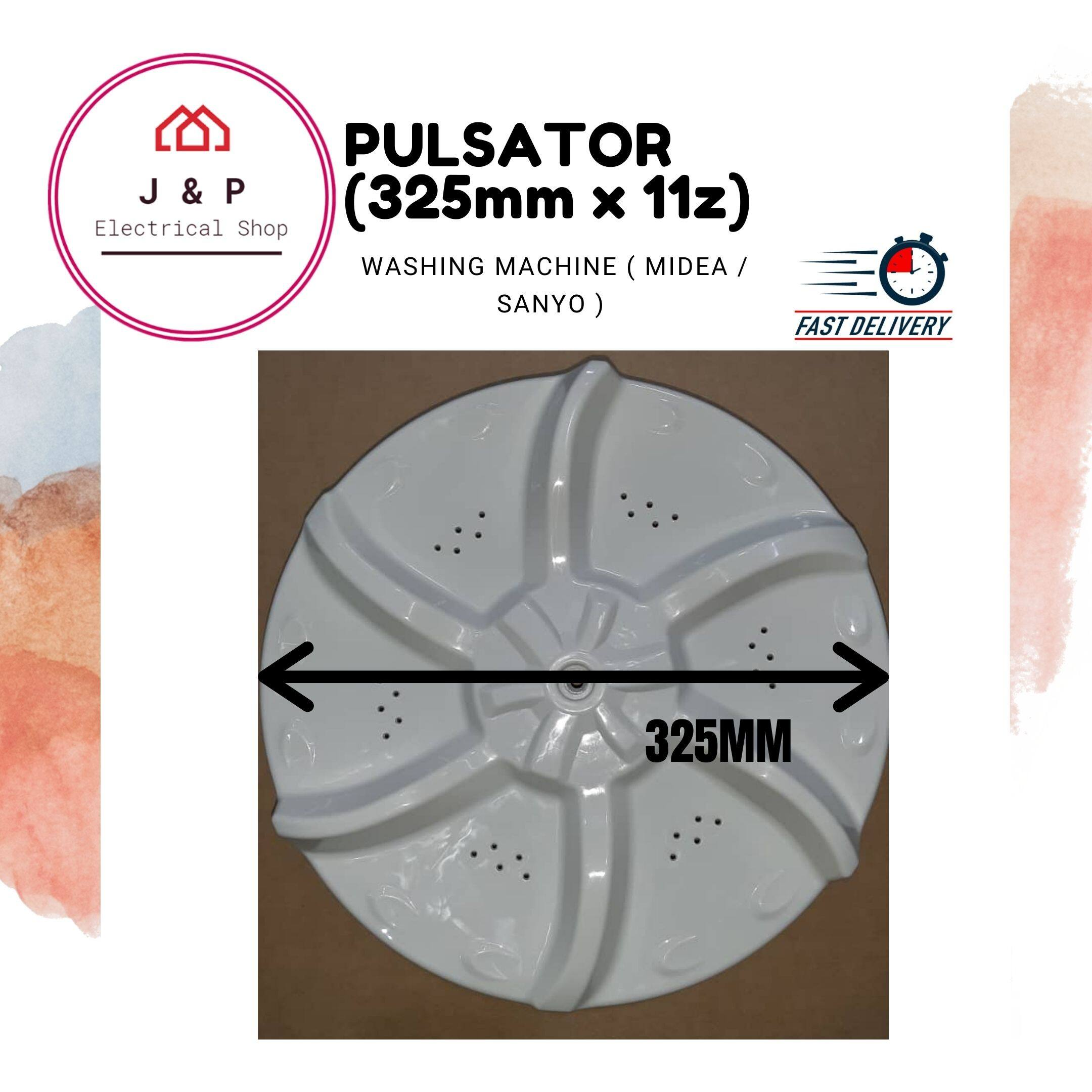 MIDEA / SANYO Pulsator for Washing Machine ( 325mm x 11z) [READY STOCK]1424610775-1599667585256-0