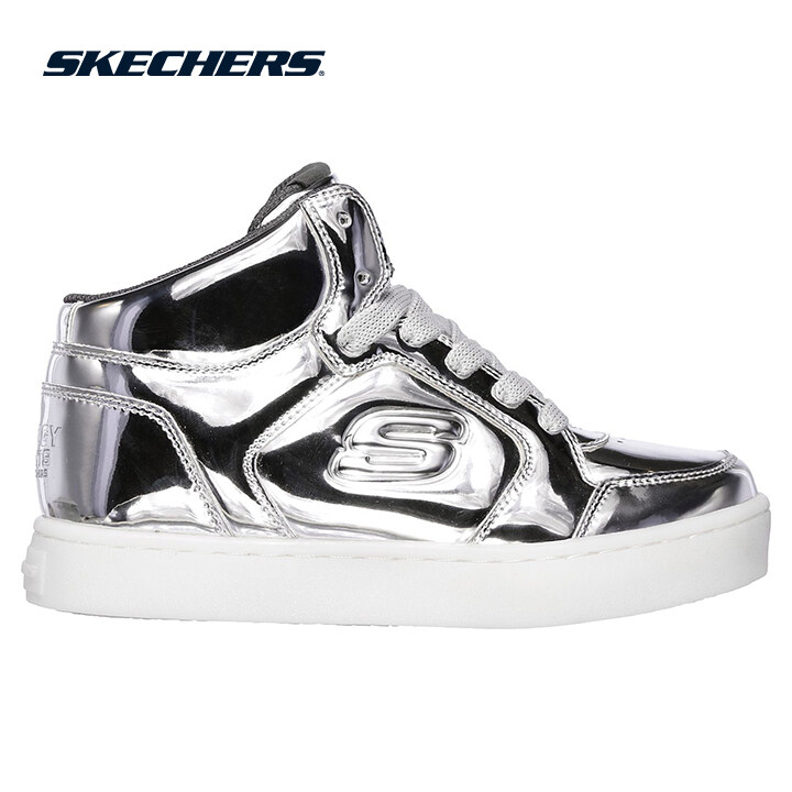 Skechers Energy Lights Boys Lifestyle Shoe - 90603L-SIL