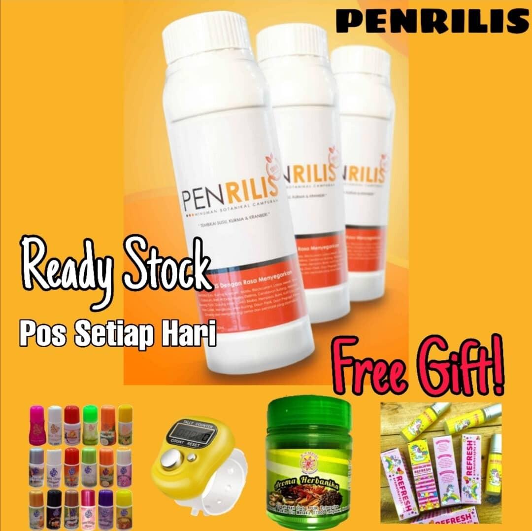 PENRILIS - Merawat Sakit Lutut / Sendi & Tulang (4 BOTOL) 3 Free Gift