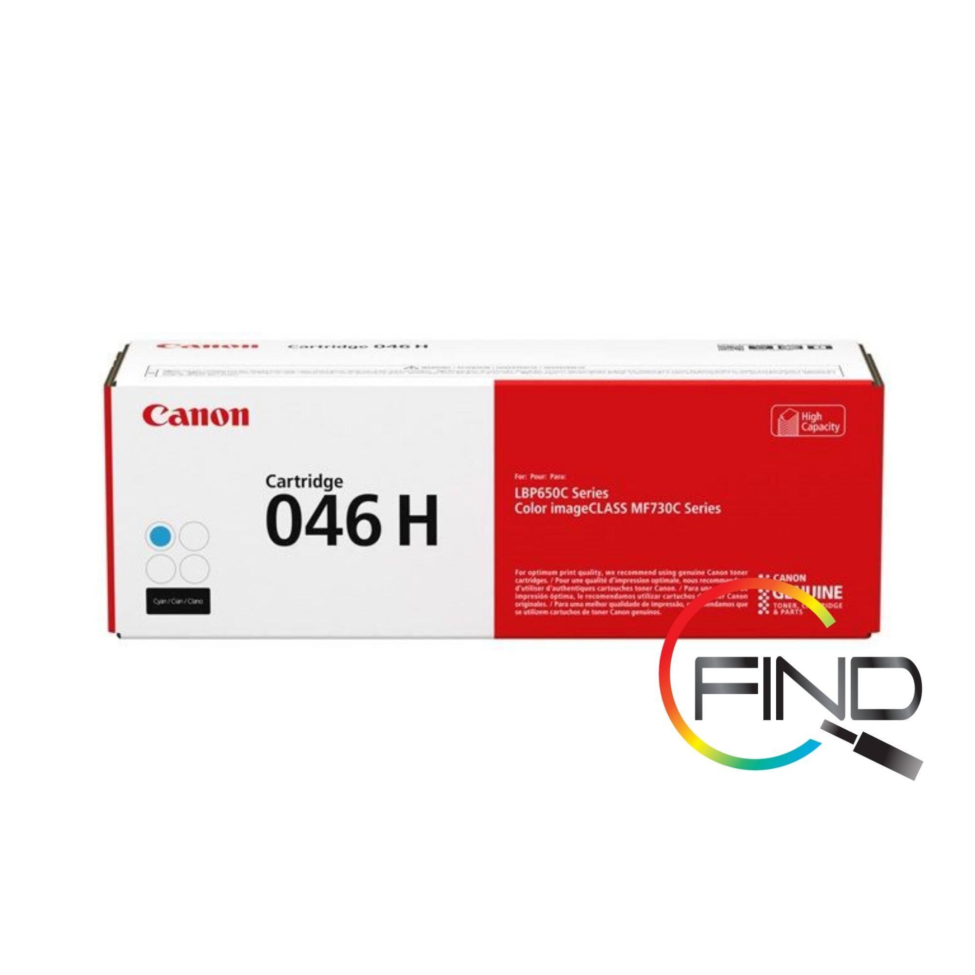 Canon Cart 046H Cyan Toner for LBP654Cx/MF735Cx Printer