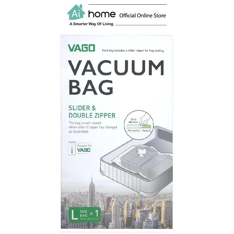 VAGO - Vacuum Bags for the VAGO Compressor [ Smart Travel ] [ Ai Home ] VVBL