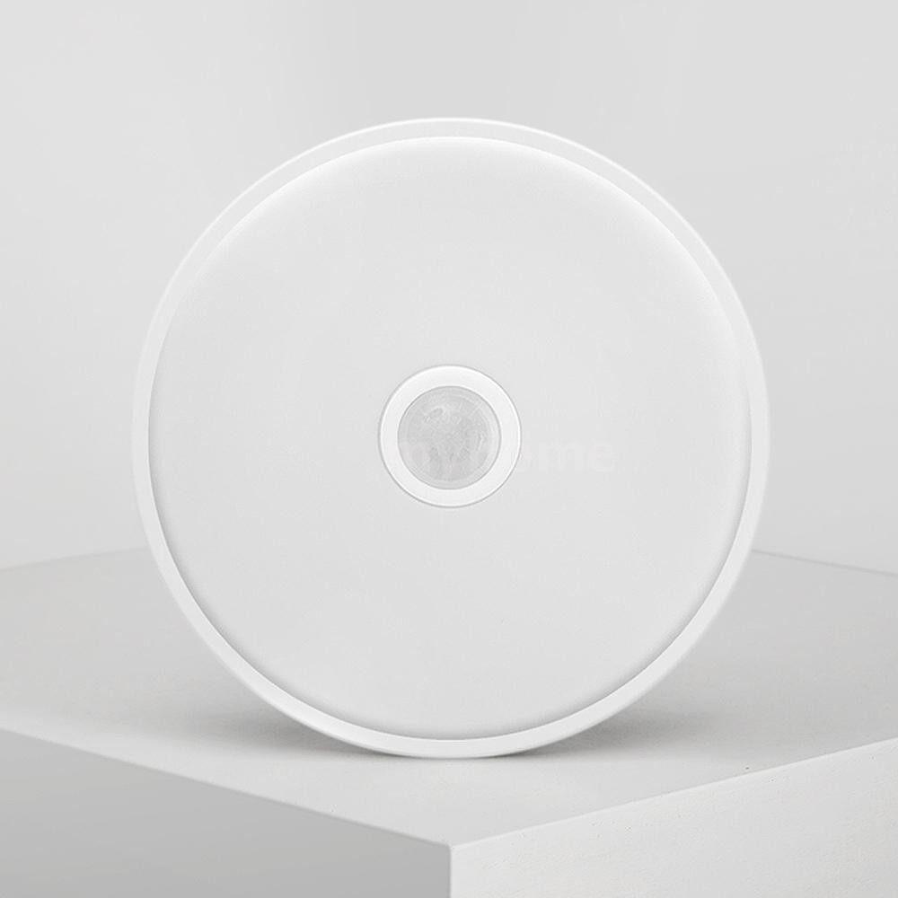 Lighting - AC220-240V 10W 28LED Ceiling Light Sensitive IR Motion Sensor Light Control for Corridor - WHITE