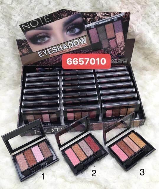 FREE GIFTNote Natural Perfect Look Eyeshadow / Offer Eyeshadow