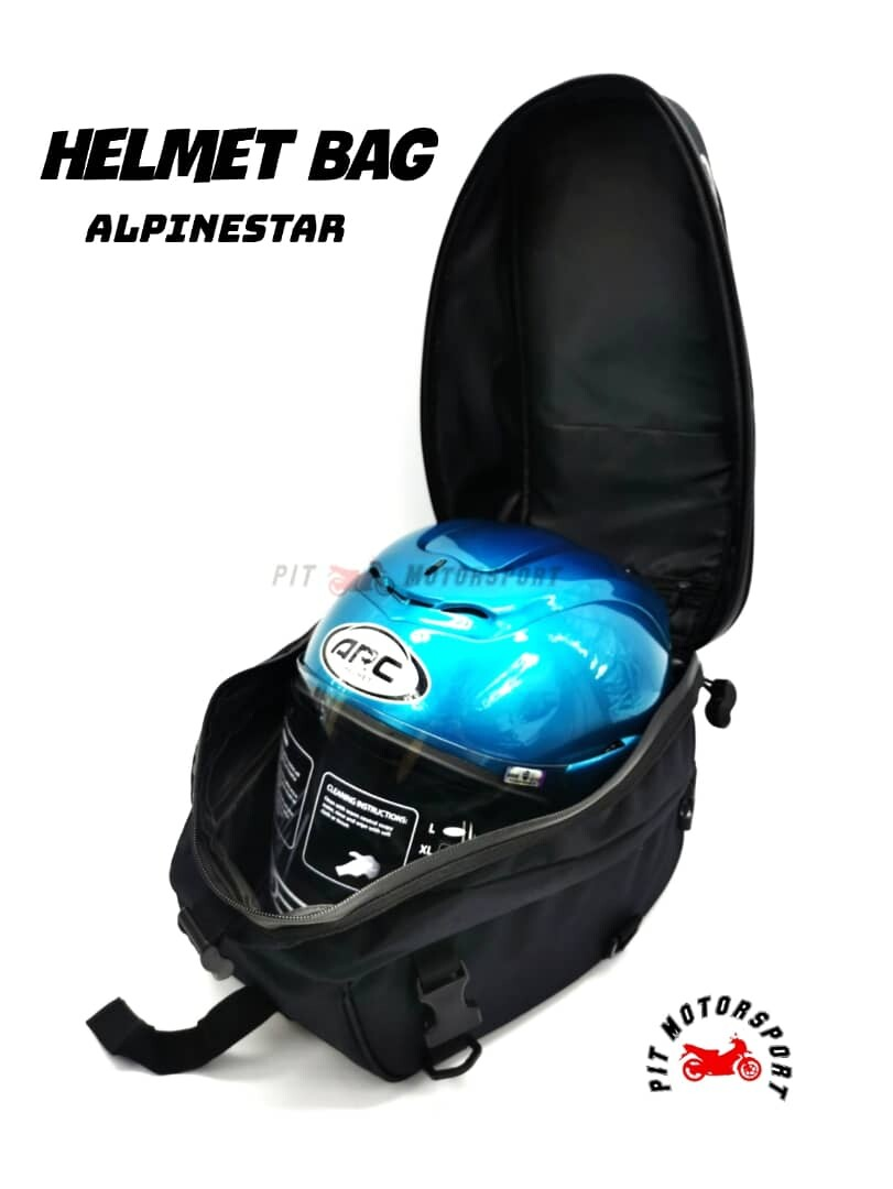 Helmet Bag Alpinestar Seat Bag Rear Tail Bag Universal Motorcycle Alpinestar Bagster / Helmet Accessories