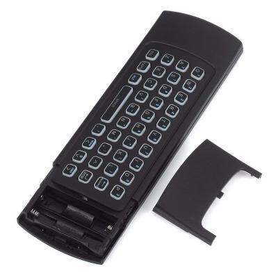 ANDROID TV BOX WIRELESS REMOTE CONTROL KEYBOARD AIR MOUSE 2.4GHZ FOR KODI PC TV (BLACK)