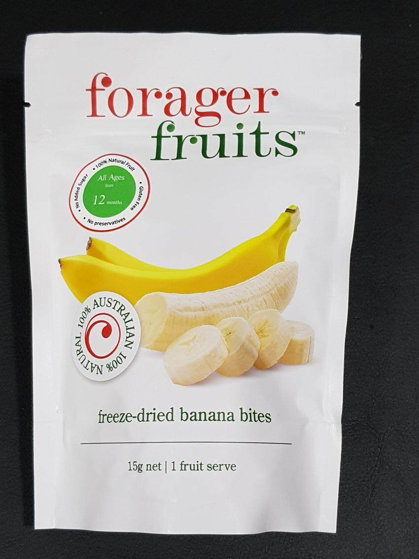 [MPLUS] FORAGER FRUITS FREEZE DRIED BANANA SNACKS 15G
