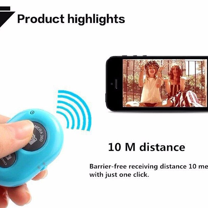 BLUETOOTH Spot Sponge Octopus Phone Holder Stand Tripod MINI Self-timer Remote Control - WITHOUT CONTROL-RED / WITHOUT / WITHOUT CONTROL-BLUE / WITH CONTROL-RED / WITH CONTROL-BLACK / WITH CONTROL-BLUE