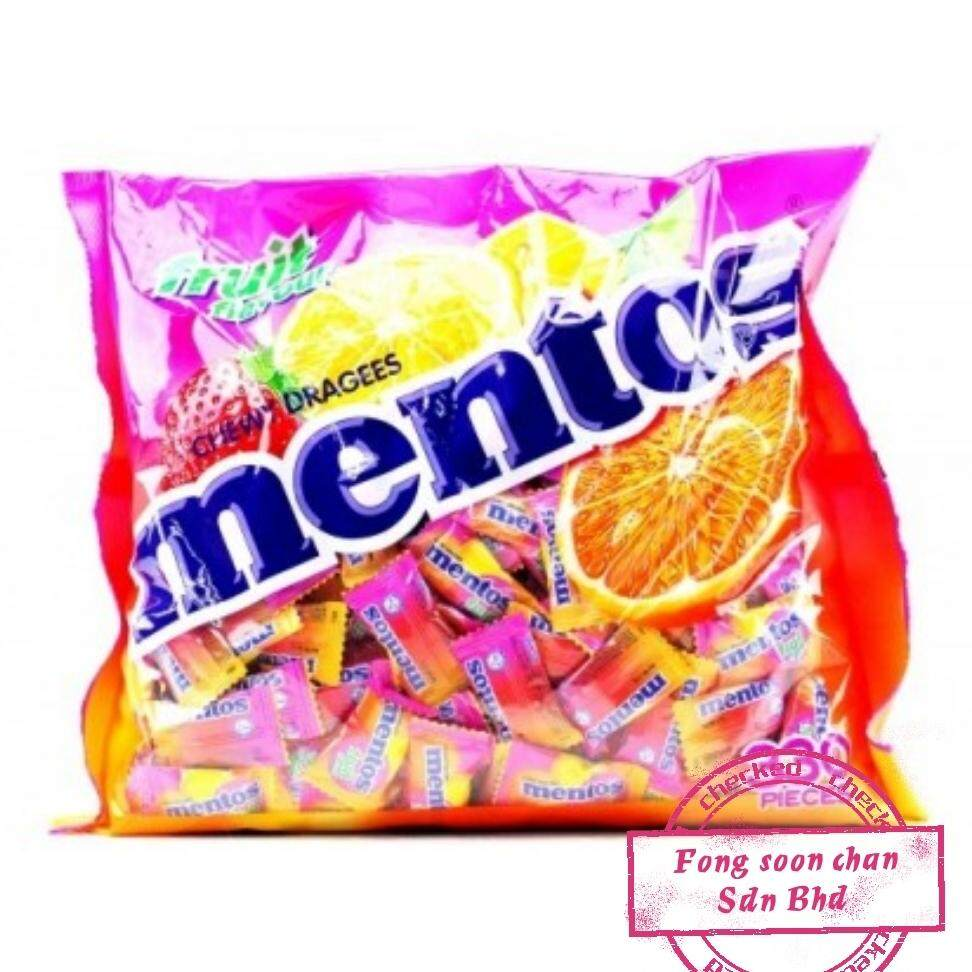 [FSC] Mentos Fruits Chewy Candy 330pieces