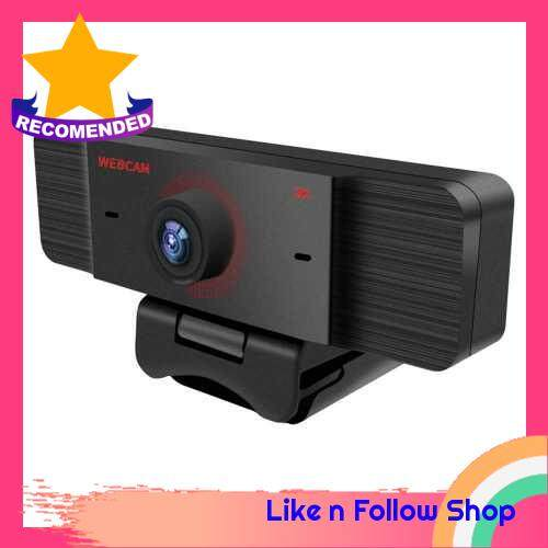 2K High Definition Live Streaming USB Web Camera Manual Focuse Webcam with Microphone (Standard)