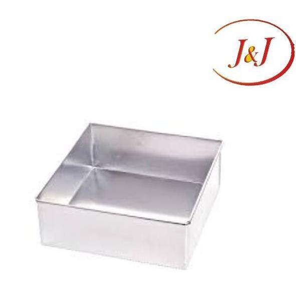 """Stainless Steel Square Cake Tin, 7"""""""