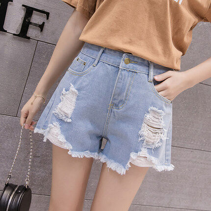 (Pre Order 14 Days)JYSFashionKoreanStyleWomenJeansPantCollectioncol538-338 light blue 25