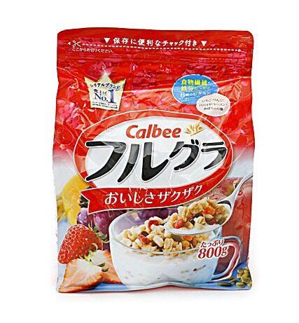 CALBEE cereal original taste 800g (0672)