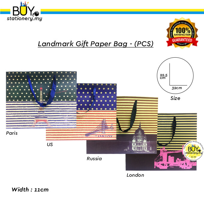 Paper Bag Landmark Collection - (PCS)
