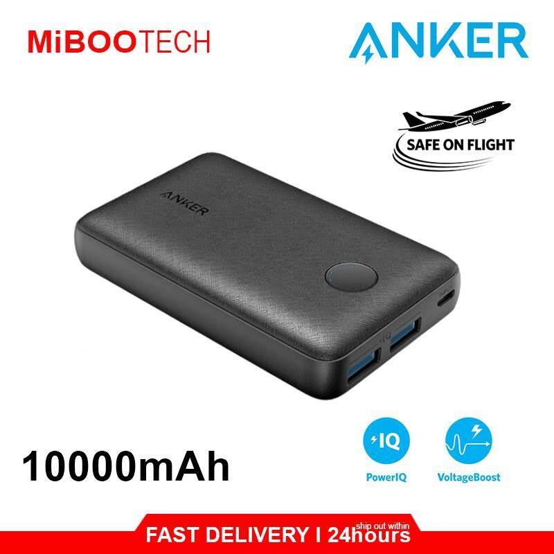 [Miboo] Anker Powerbank PowerCore Select 10000mAh & 20000mAh Dual USB PowerIQ 2.0 Original Power Bank Huawei Apple Samsung-10000mAh - Dual USB