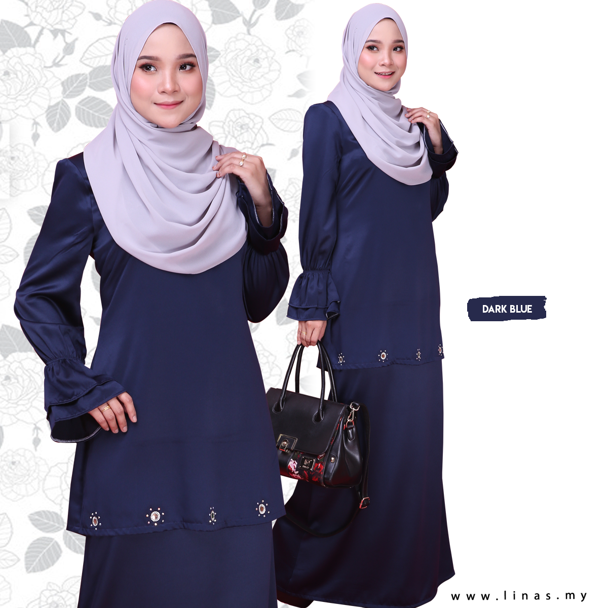 Kurung Moden Muslimah Easy Iron ALIA by LINAS FASHION