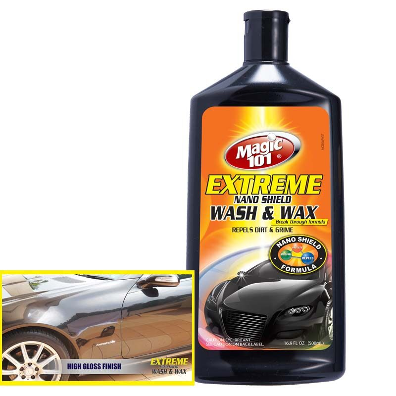 Magic101 Extreme Nano-Shield Car Wash and Wax 500ml (Special Offer Price)