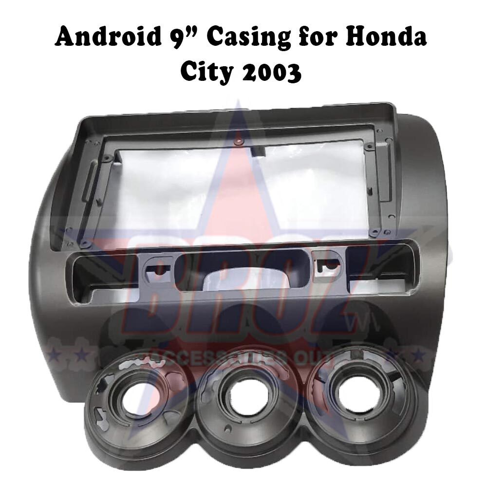 9 inches Car Android Player Casing for City 2003