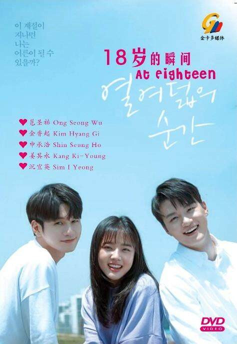 Korean Drama At Eighteen 18 DVD