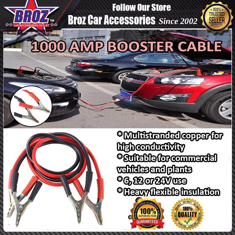 1000 AMP Booster Cable / Battery Jumple Cable