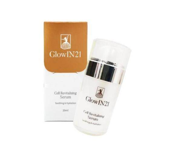 GlowIN21 Cell Revitalizing Serum Soothing Hydration Skin Moisture Nourish skin Shine (30ml)